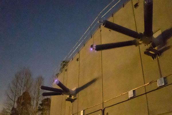 245 kV spänningsprov i M12